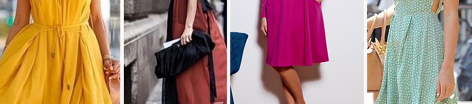 Виды платьев — тренды сезона